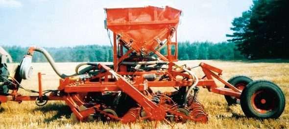 Механизация посева  поукосных  и  пожнивных промежуточных культур