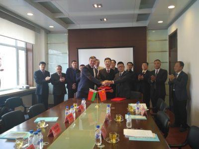 Беларусь и Китай - сотрудничество в области механизации сельского хозяйства