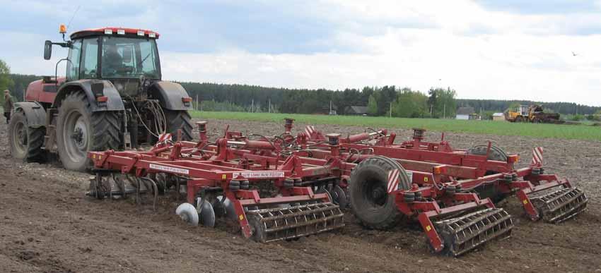 Агрегаты комбинированные для минимальной обработки почвы