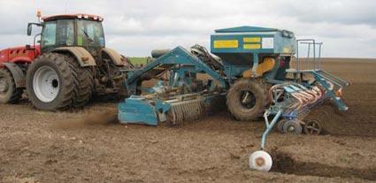 Новые агрегаты для обработки почвы и посева