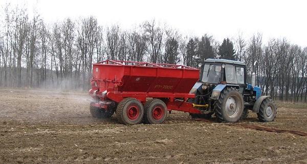 РУ-7000 для внесения минеральных удобрений
